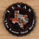 Texas License Plate Bottle Cap