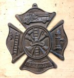 Fire Fighter Plaque