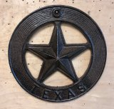 Texas Star in Circle