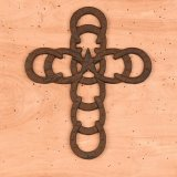Horseshoe Cross Wall Decorations