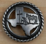 Texas Praying cowboy 1.25""