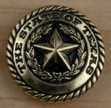 State Seal Concho 1""