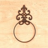 Ornate Towel Ring