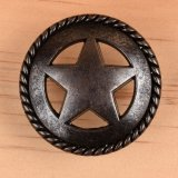 Star/Rope Drawer Pull