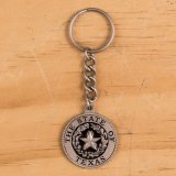 State Seal Key Chain Blk