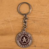 State Seal Key Chain Red