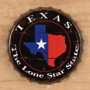 Texas Flag Bottle Cap
