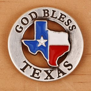 God Bless Texas 1.25""