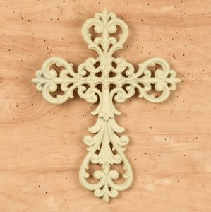 Antique White Cross